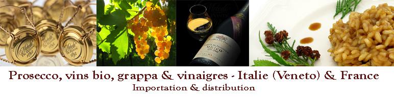IPSODIS :: Prosecco, vins bio, grappa & vinaigres - Italie (Veneto) & France