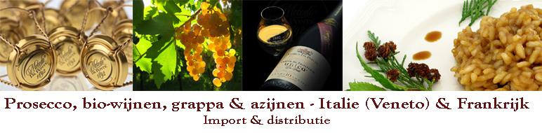 IPSODIS :: Prosecco, bio-wijnen, grappa & azijnen - Italïe (Veneto) & Frankrijk